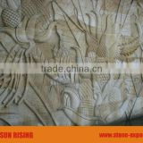 Sandstone carving wall stone