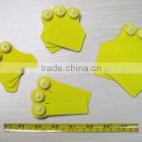 Custom PET RFID Cattle Tagss with UID Printing, HF Passive RFID Animal Ear Tags for Pigs, Sheep, and Cattle