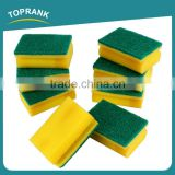 Toprank Strong Cleaning Capacity Non-scratch Green Kitchen Cleaning Sponge, Sponge Scouring Pad, Sponge Scourer