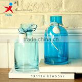 home/room decorations /transparent large glass vase/ flower in different container/ home decorations