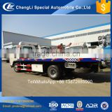 JAC car carrier towing truck, tow truck wrecker upper parts, wrecker tilt tray truck