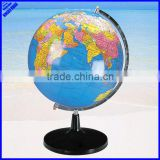 Quality educational 320mm rotating big size world globe