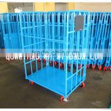 Wholesale supermarket metal shelf roll container