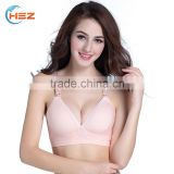HSZ-9635 China Manufacturer Women Hot Sexy Breast Lift Bra Cheap Wholesale Ladies New Style Cotton Nursing Bra
