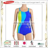Good elastane OEM ODM women competition newest Compare Professional high quality woman one piece swimsuit BIKINI Sedex factory