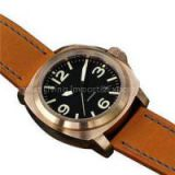 wholesale Men\'s  Watches  Diver\' Swiss Quartz Leather Strap