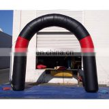 new inflatable finish line arch inflatable gate with logo custom
