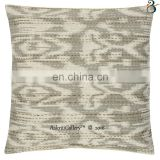 Indian christmas cushion covers Handmade Embroided Ikat Print Home Decor Throw Pillow Case