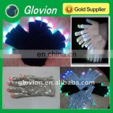 Christmas Patry LED flashing multicolor light-up gloves