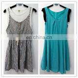 second hand used clothing and shoes Casual Dresses woman clothes