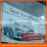 customized promotional blockout mesh banner