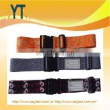 Wholesale Luggage Strap/ Custom Travel Luggage Belt with Lock/ Luggage Accessory