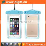 China made plastic waterproof mobile bag pvc phone bag water proof bag