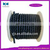 10mm black packing cotton twisted rope