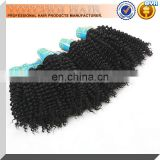 AAAAA Tangle Free Short Curly Brazilian Hair Extensions