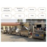 fully automatic potato chips production line potato fries production line