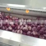 Brush Roller Potato Cleaning Machine/groundnut washing machine/ginger washing and peeling machine