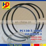 PC130-7 Truck Diesel Engine Parts 4D95 SAA4D95LE-3 6208-31-2100 Piston Ring 6204-31-2202 92MM