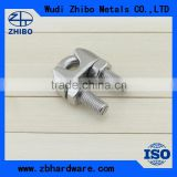 Stainless Steel ss304 316 Material and Wire Rope Clip Type Stainless Steel Drop Wire Clamp
