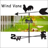 (552) Animal Rooster Shaped Metal Wind Vane Weather Vane For Garden Decorative
