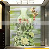 digital inkjet print wall and floor tile 3D house floor tiles