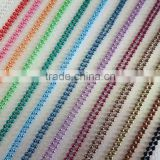 52 Yards Spool 1.5mm Colored Metal Ball Chain Unfinished Bulk For Necklace