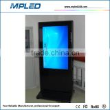 Good quality of 60 inch lcd advertise player for indoor media advertising show hd image and video