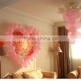 Meet EN71! ASTM F963-08! GB6675-2003!Nitosamines detection! latex round shape birthday party decoration pink balloon