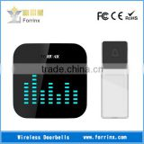 FORRINX 52 Melodies 300m Range Jumpy LED Flashing Lights Wireless Doorbells Loud Dingdong Sound