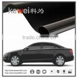 Smart car window screen tint and dyed film / original color Black Side