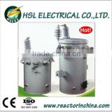 25kva single phase pole mounted oil immersed power transformer