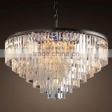 High Quality New Design Luxury Decoration Festival Crystal Chandelier Light Model RT3001-D25