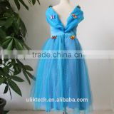 hot selling high quality cinderella dress cosplay costume party dress for girls