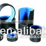 Extruded High Density Polyethylene Double Wall Corrugated HDPE Pipes for Sewerage Application