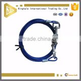 Customized PVC coated Steel Wire Rope Sling with hook