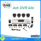 best selling hot chinese products 4 channel cctv dvr kits,Ptz Camera,mini dvr,import export company names