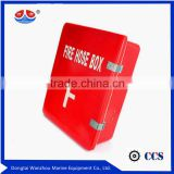 2015 hot sale! Fiberglass Fire Hose Box,Double Side GRP glass reinforced plastic fire hose box