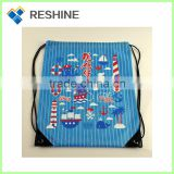 promotional with manufactory price gym drawstring gift bag