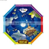 boy love-spacecraft printing kids umbrella