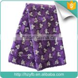 Wholesale new fashion french net lace fabric with beads hot selling purple net embroidery lace