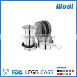 Stainless steel folding cup for bar, bar accessory F6                                                                         Quality Choice