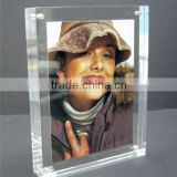 personalized fashionable crystal sounveir gifts 5x7 glass picture frames                                                                         Quality Choice
