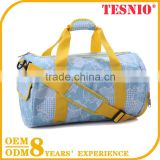 Tesnio Travel Bag Trolley Luggage, Leather Duffel Bag, Trolley Travel Bag, Girls Cosmetic Bag