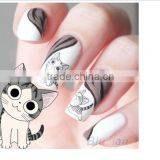 1Set=2Sheets 20 Design Water Transfer Nail Stickers Cute Cat Design 3D Manicure Beauty Product For Nails Stamp Water Decals
