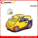 Polyester material toy tent car shape kids play tent