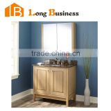 LB-LX2107 Home furniture solid wood cabinet bathroom set mirror with cabinet