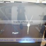 holographic transparent pvc projection screen fabric advertising screen