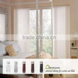 Bintronic Taiwan Electric Curtain Blinds Discount For Motorized Vertical Blinds Track Curtain Motorized