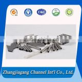 321 Grade stainless steel pipe used for aircraft and exhaust pipe                                                                         Quality Choice