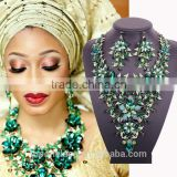 wholesale african wedding set jewelry crystal/big fashion heavy kundan jewelry set                                                                         Quality Choice